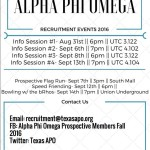 Fall 2016 recruitment lyer